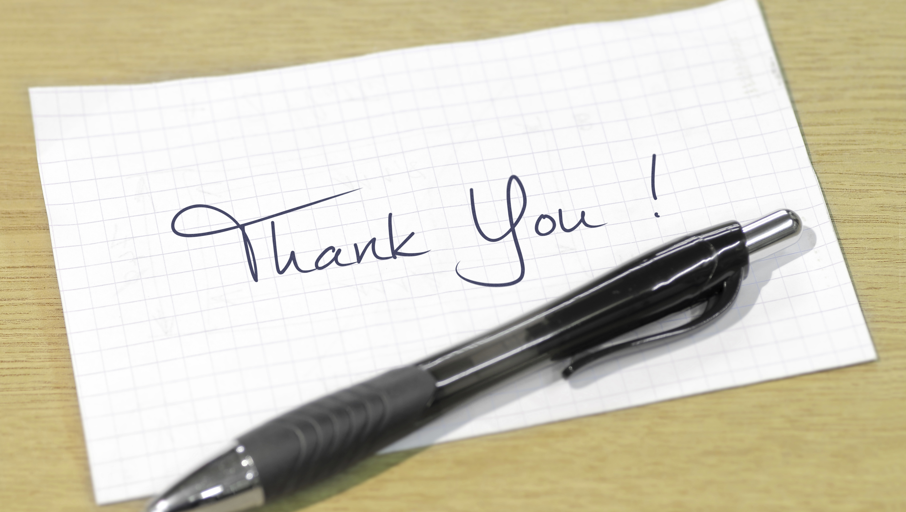 Crafting A Thank You Letter