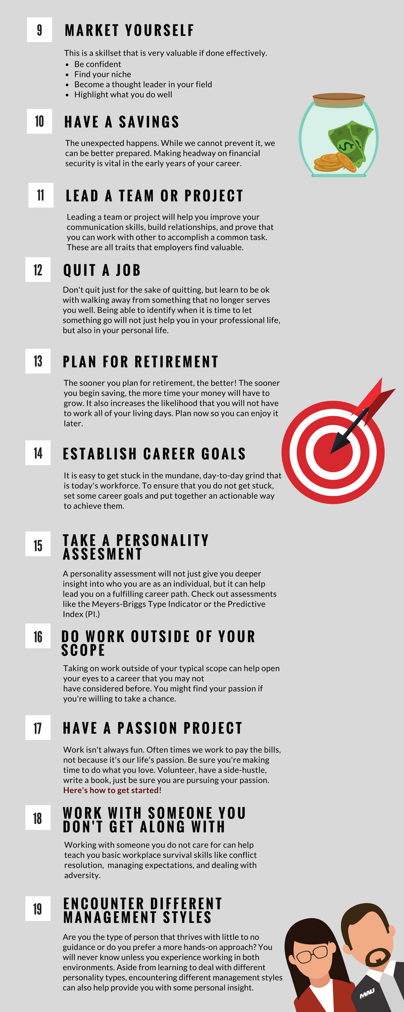 30 Things To Do For Your Career By Age 30