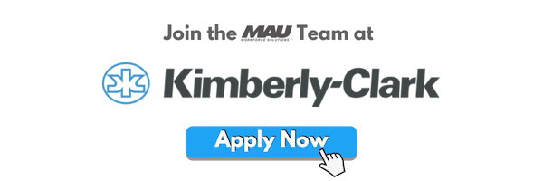 MAU now hiring at Kimberly-Clark Paris, TX