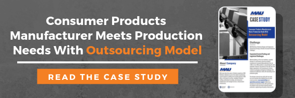 Case Study: Consumer Products Manufacturer Meets Production Needs With Outsourcing Model