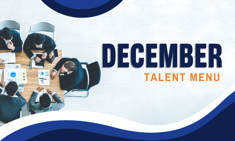Header_ December 2019 Talent Menu