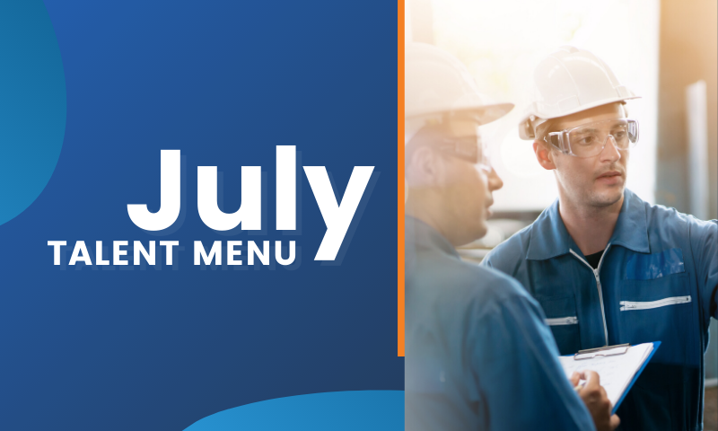 MAU Workforce Solutions - July 2020 Talent Menu