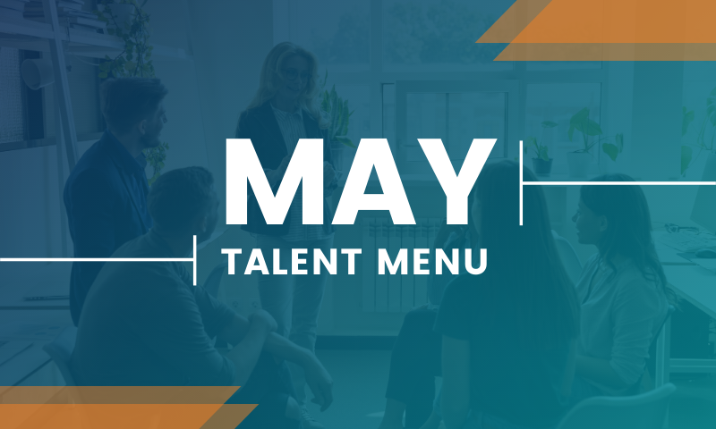 MAU's May Talent Menu - Download