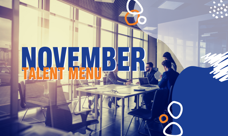 Header_ November 2019 Talent Menu