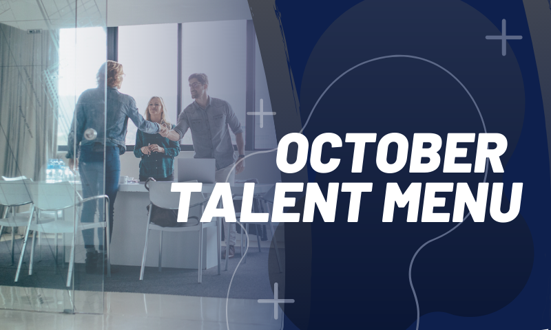 Header_ October 2019 Talent Menu