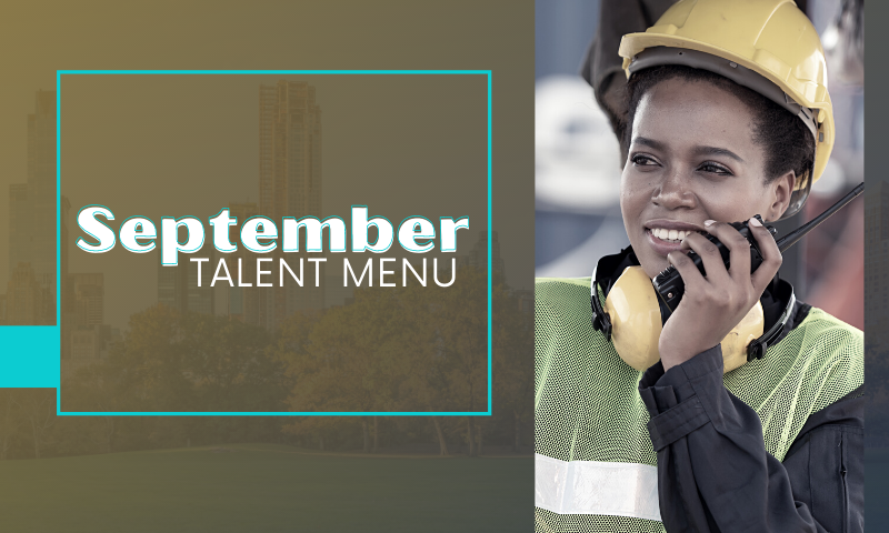 MAU Talent Menu: September
