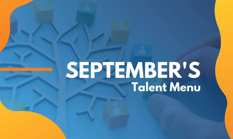 Header_ Septembers 2019 Talent Menu