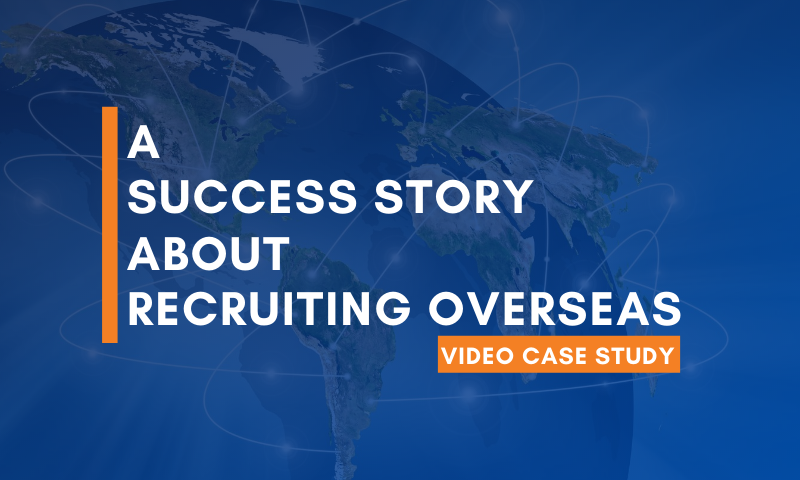 An International Manufacturer Successfully Finds Talent Overseas [Video Case Study]