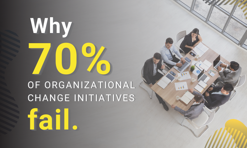 Why Most Organizational Change Initiatives Fail
