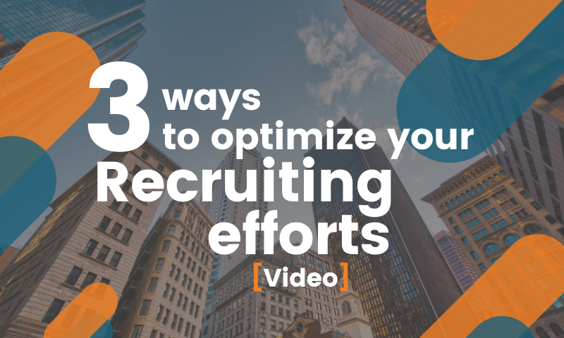 Boost Your Recruiting Efforts in the New Year with These 3 Tips [Video]