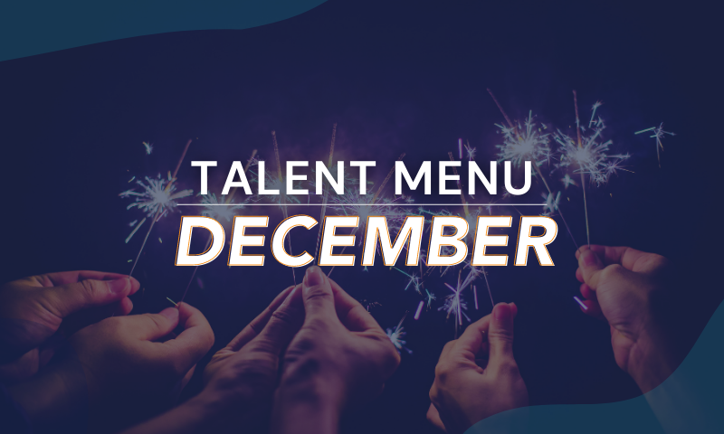 MAU's Holiday Talent Menu [Download]