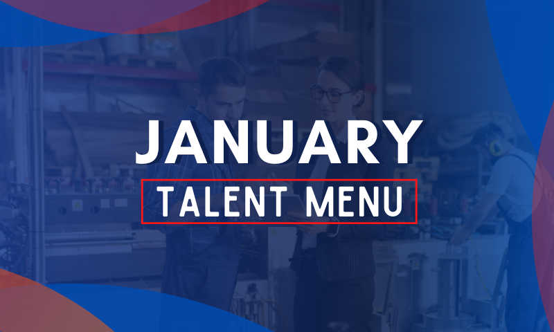 MAU Talent Menu - January 2021