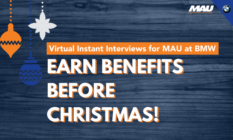 MAU at BMW Virtual Instant Interview Hours