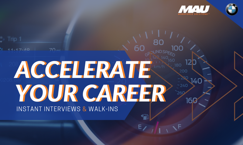 Accelerate Your Career - October Virtual Interviews and Walk-ins