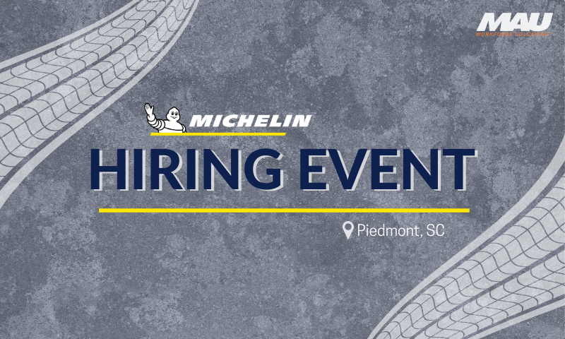 MAU at Michelin Hiring Event