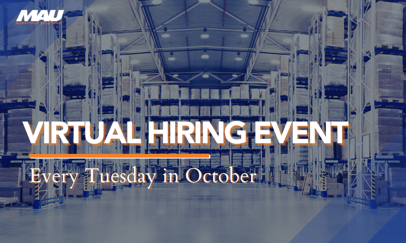 Virtual Hiring Event Every Tuesday in October