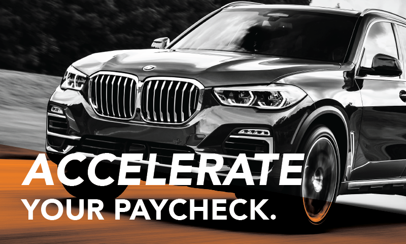 Accelerate Your Paycheck - Orange