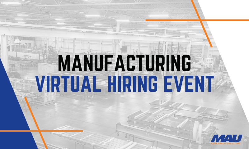 MAU Virtual Hiring Event in Anderson, SC