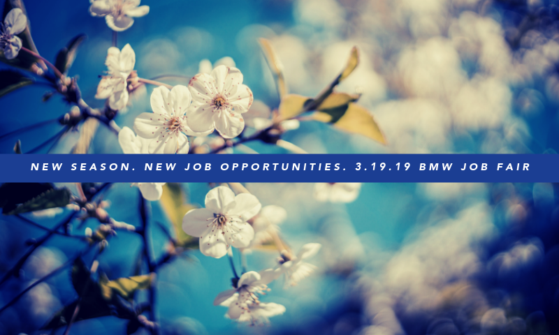 BMW 3.19.19 Hiring Event