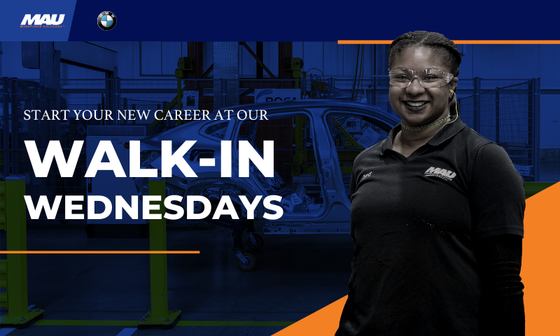 MAU at BMW Walk-In Wednesdays [Contact-Free Interviews]