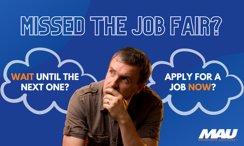 Missed the Job Fair or Hiring Event? What are the next steps?