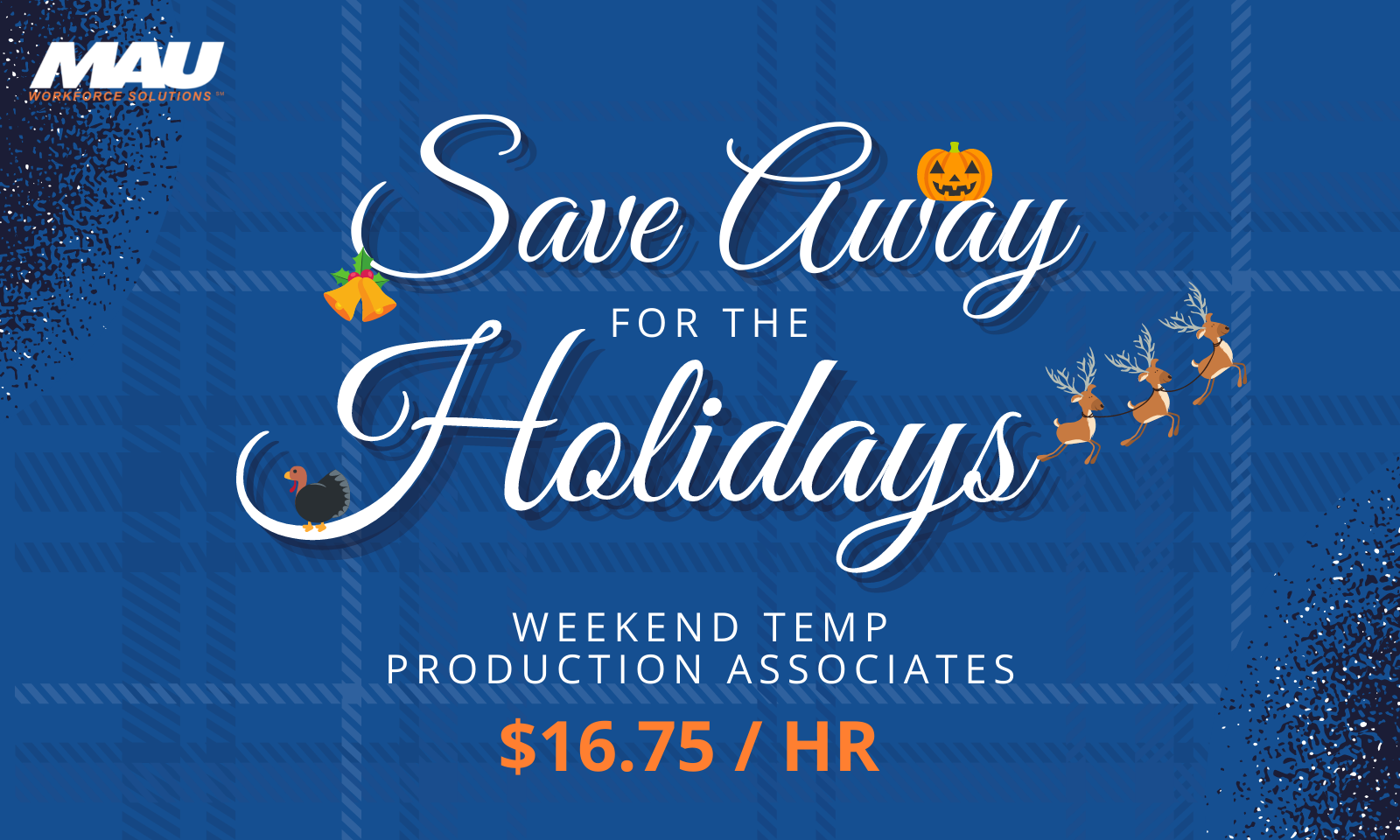 Save Away for the Holidays [Now Hiring Weekend Production Associates in Ladson, SC]