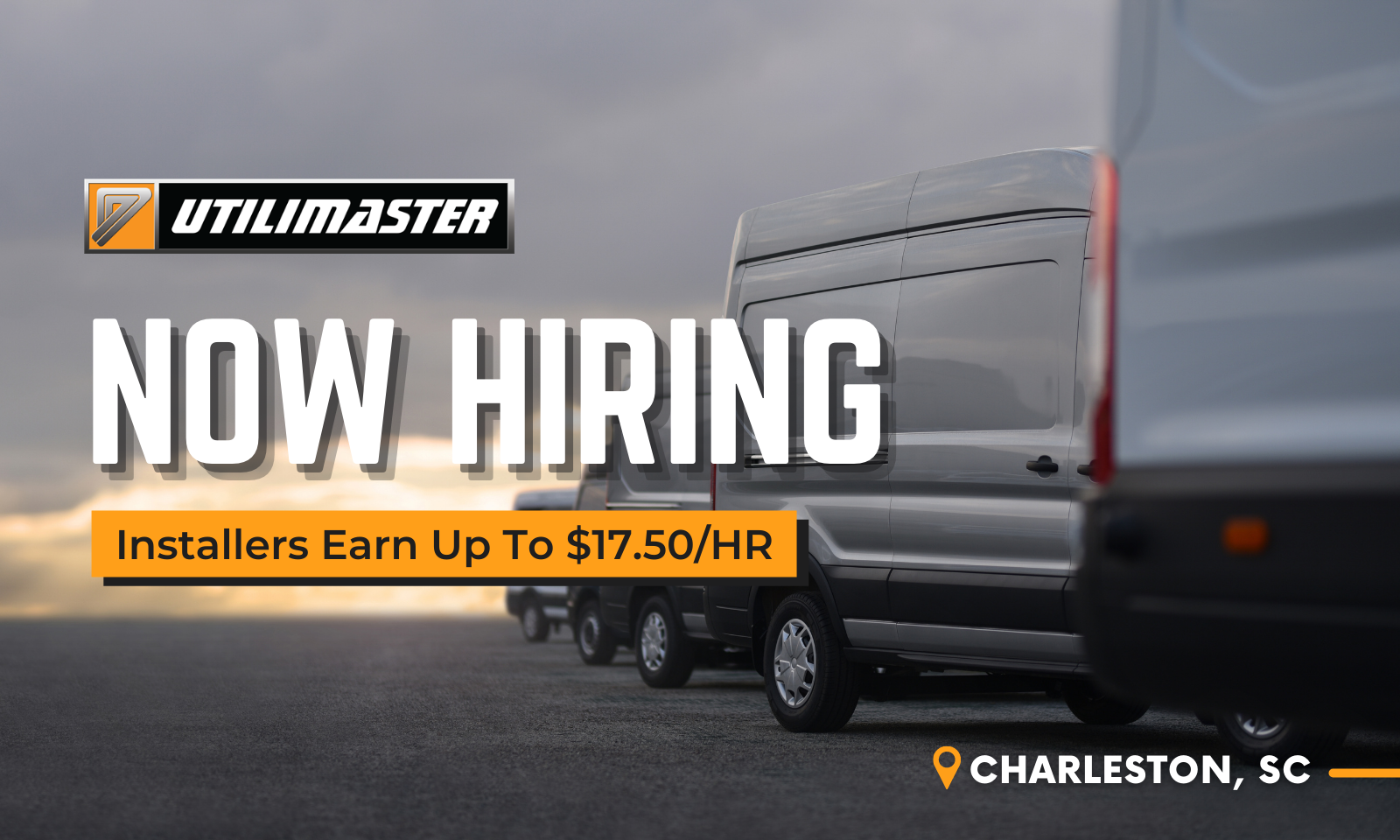 Utilimaster is Now Hiring Direct-hire Installers in Charleston, SC
