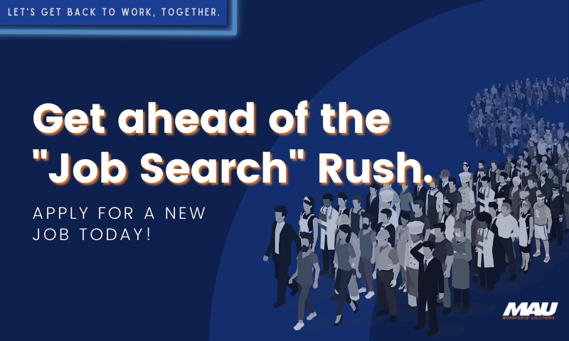 """Get Ahead of the """"Job Search"""" Rush"""