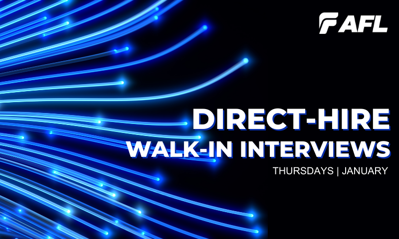 AFL Direct-hire Walk-in Interviews