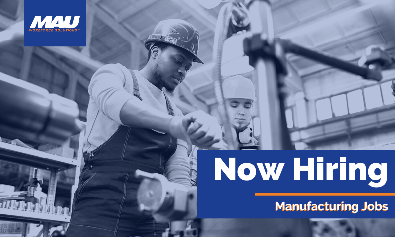 Now Hiring Manufacturing Jobs in Greenville, SC