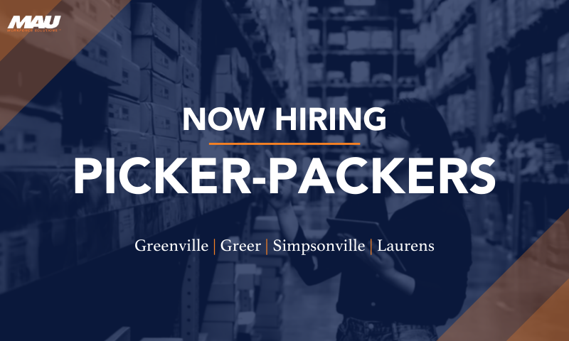 Now Hiring Picker-Packers