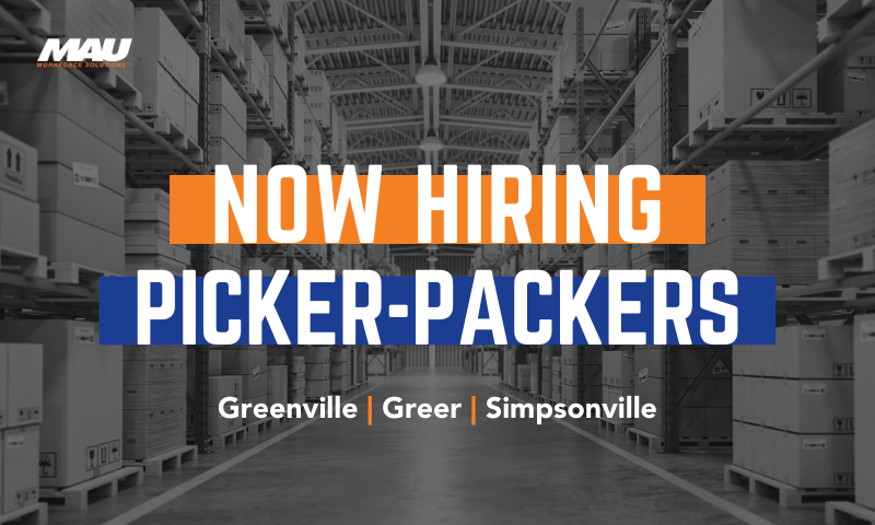 Now Hiring Picker Packers
