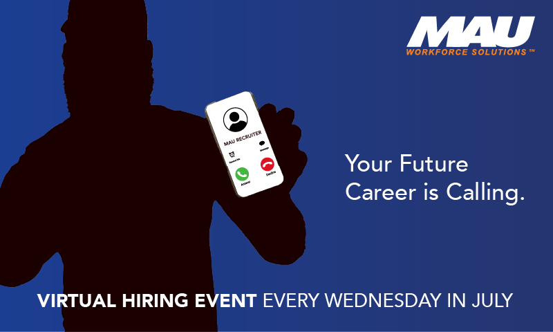 Virtual Hiring Event Every Wednesday in July