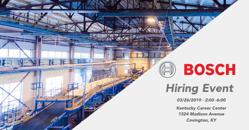 Bosch Hiring Event blog