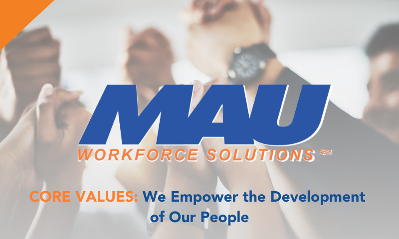 We Empower the Development of Our People