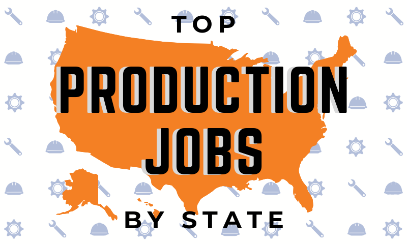 Career Tips - Top Production Occupations by State