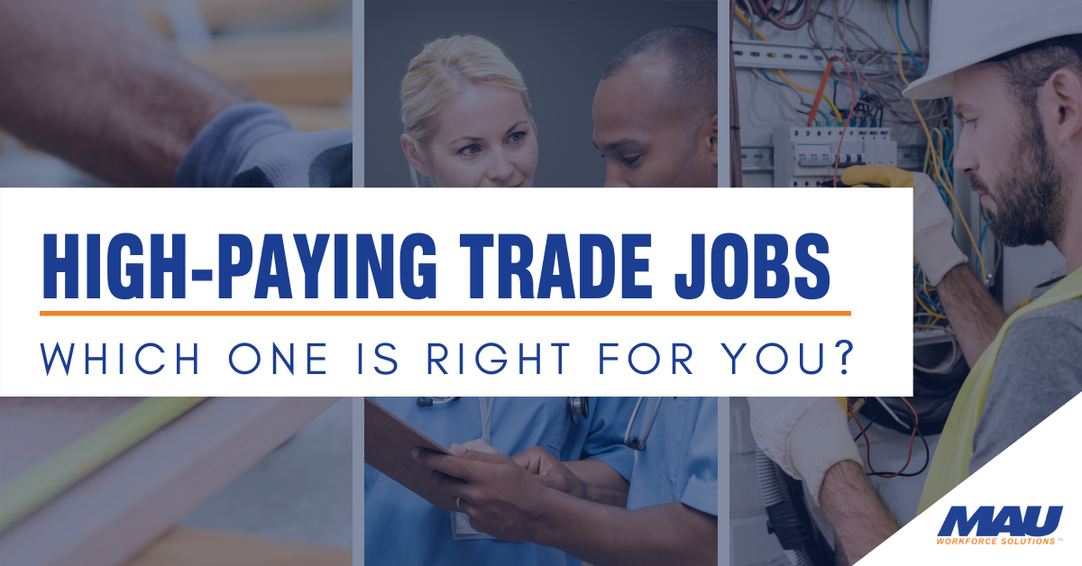 Which High-Paying Trade Job is Right for You
