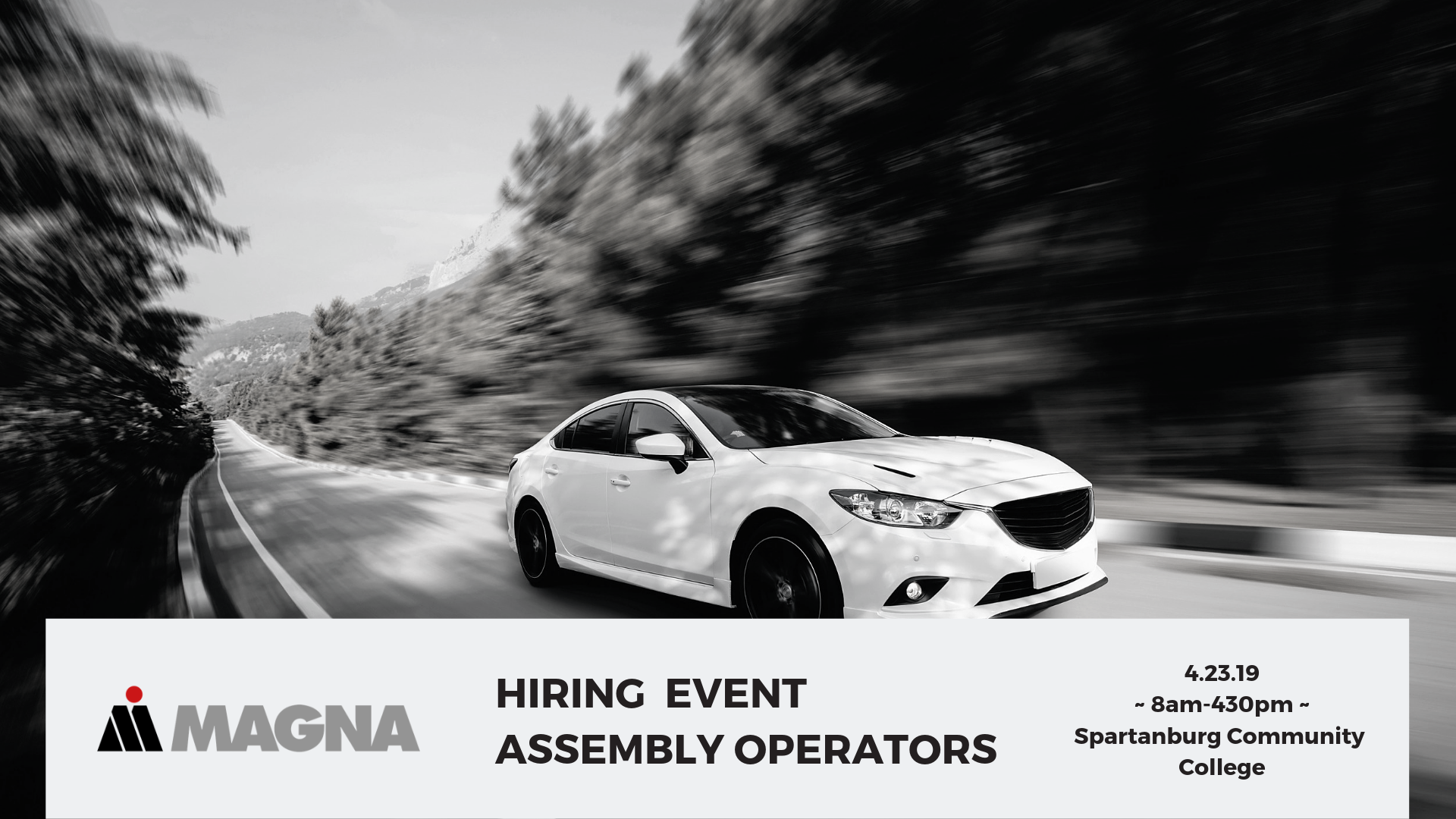 Copy of   Assembly Operator (Direct Hire) Magna Seating hiring event march FB Event
