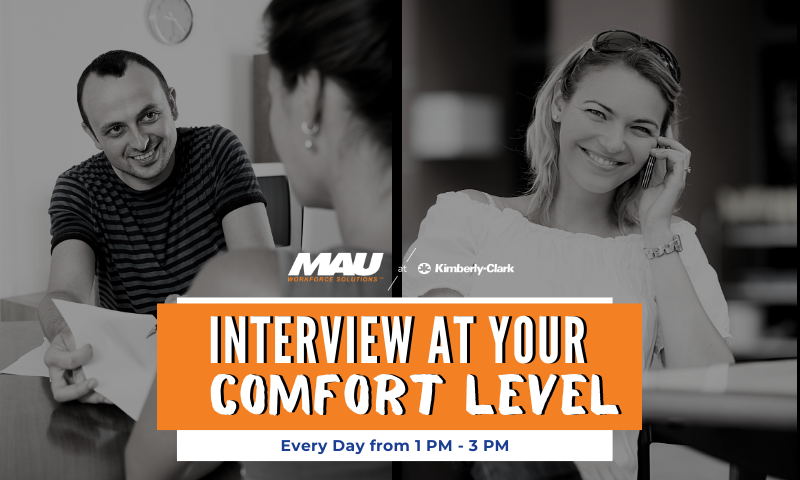 Interview Instantly with the MAU team at Kimberly-Clark!!
