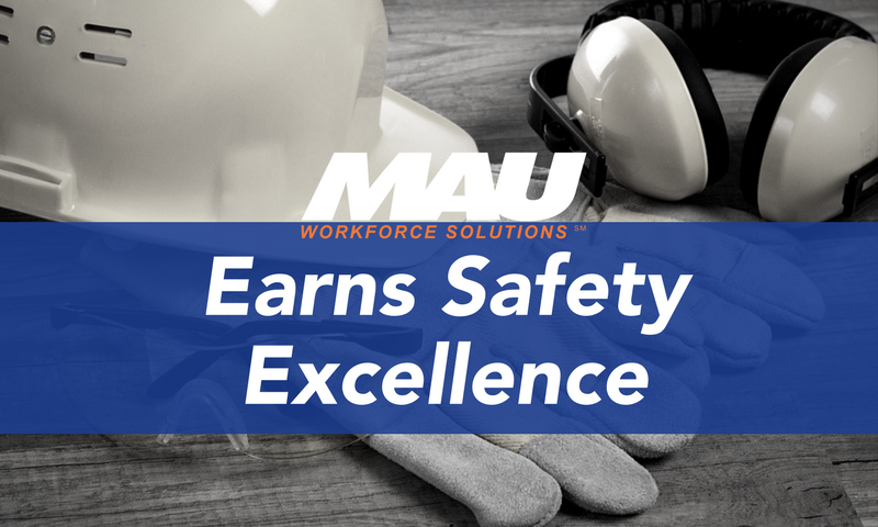 Earns Safety Excellence