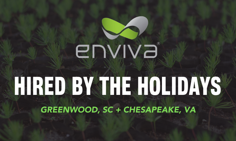 Enviva Direct Hire Holiday Hiring
