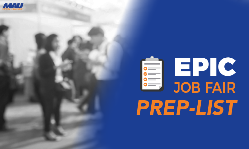 Downloadable Checklist for Job Fair Preparation