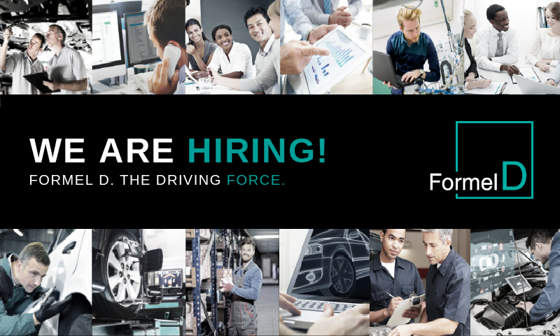 MAU is hiring for Direct-Hire Jobs at Formel D