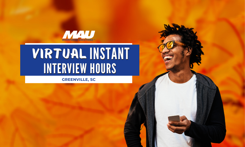 Monday and Wednesday Virtual Instant Interview Hours