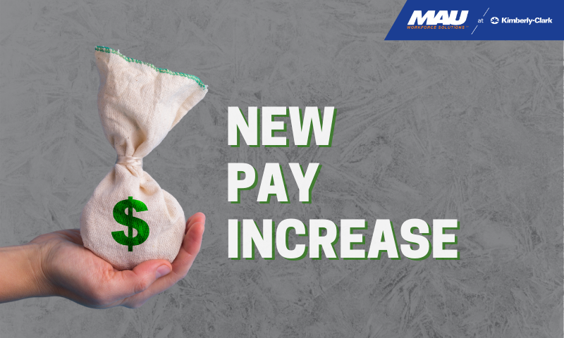 MAU at Kimberly-Clark Pay Increase