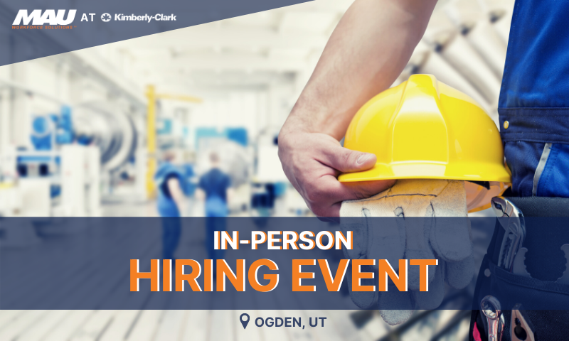 In Person Hiring Event in Ogden, UT