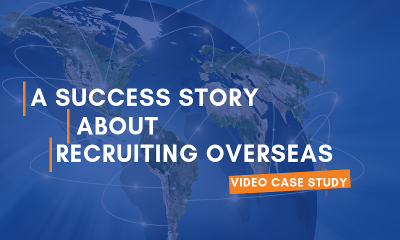 Header_A Success Story about Recruiting Overseas