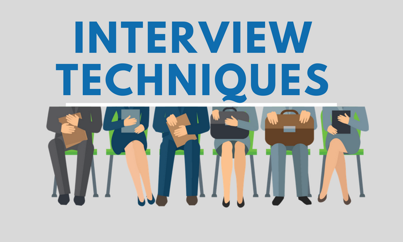 16 Interview Techniques You Should Be Using!