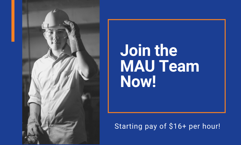 Join the MAU Team Now!