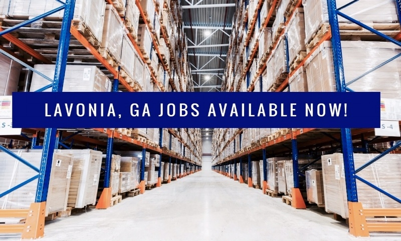 lavonia  ga jobs available now